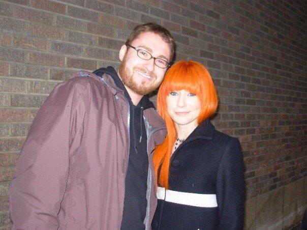 meeting Tori Amos December 3 2007.